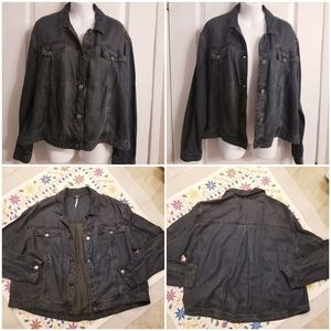 Free People Extra-Soft Denim Jacket